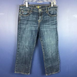 Lucky Brand Sweet Crop Size 12
